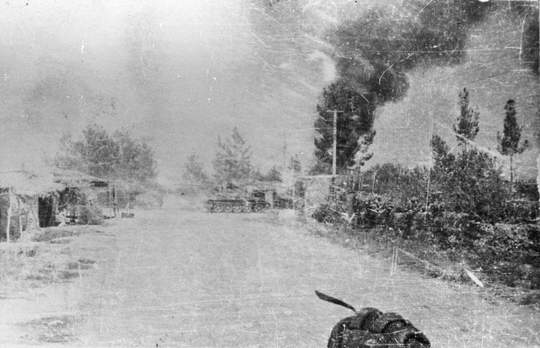 Боевая операция в кишлаке, проводимая с участием 3-го батальона нашего полка.  Кандагар, лето 1981г